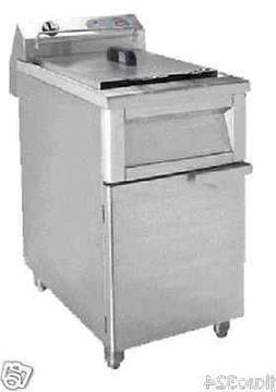 New Electric Deep Fryer Floor Model 220 VOLT 3 PHASE