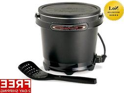 new granpappy electric deep fryer kitchen cooking