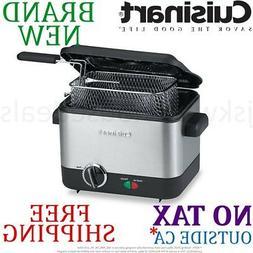 *New* Cuisinart Mini DEEP FRYER 1.1L Liter Capacity 1000W 0.