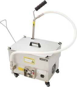 NEW Portable Deep Fryer Oil Filter System Adcraft OF-40 Pump