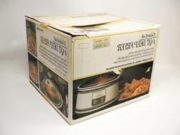 NEW – Sears CounterCraft 4-Qt. Deep Fryer • Made in USA