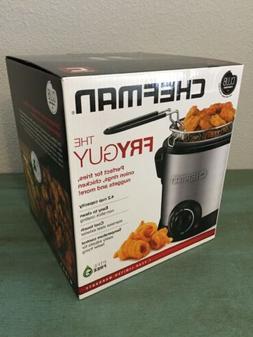 New Chefman THE FRYGUY 4.2 Cup Mini Deep Fryer Brand New In