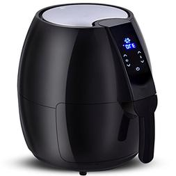 NEW1500W Electric Air Fryer 4.8 Quart Touch LCD Screen Timer