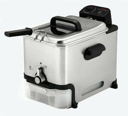 No boxT FAL Deep Fryer with Basket Stainless Steel Easy to C