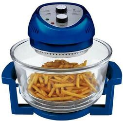 Big Boss Oil-less Air Fryer, 16 Quart, 1300 watt, Blue