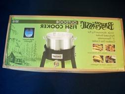 BAYOU CLASSIC OUTDOOR FISH COOKER 10 Qt Aluminum Fry Pot Out