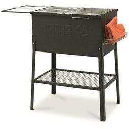 Outdoor Triple 3 Basket Deep Fryer Propane Portable Camping