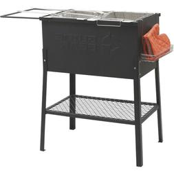Outdoor Triple 3 Basket Deep Fryer Propane Portable Camping