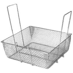 """Pitco P6072180 Fry Basket W/Two Handles Front Hook 16.75"""" X"""