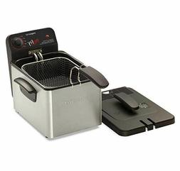 Portable Electric Deep Fryer Small Restaurant Kitchen Commer