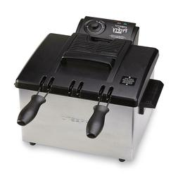 Presto 05485 Dual Basket ProFry Plus Deep Fryer
