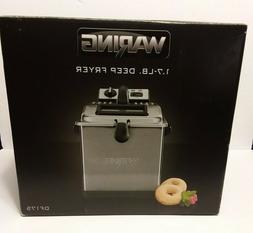 Waring Pro 1800-Watt Digital Deep Fryer - DF175 1.7 Lb Brush