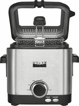 Bella - Pro Series 1.6qt Deep Fryer - Stainless Steel