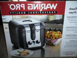 Waring Pro WPF100BPC Professional Cool Touch Deep Fryer NIB