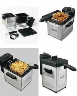 Proctor Silex 1.5 L Professional-Style Deep Fryer, Stainless