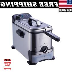 Professional High Quality Brand  3-Liter Filter Deep Fryer S