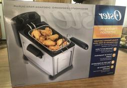 Oster Professional Style Immersion Stainless Deep Fryer CKST