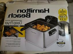 professional style stainless steel deep fryer 4