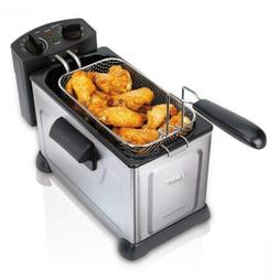 Oster Professional Style Stainless Steel Deep Fryer With Fry