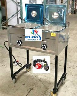 Propane and gas Deep Fryer FY20OUTDOOR Fryer Stainless Ste