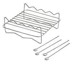 Replacement BBQ Rack and Skewers for Secura Electric Hot Air