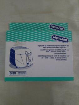 DeLonghi Replacement Filters for D895 Deep-Fryer  New in Pac
