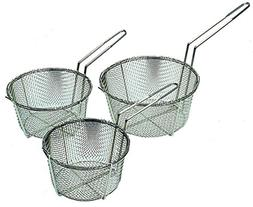 Round Wire Basket Deep Fryer Food French Fries Nugget Kitche