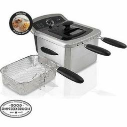 Farberware Royalty Stainless Steel 4 Liter Deep Fryer Dishwa