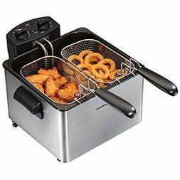 SALE 35034 Double Basket Deep Fryer, Professional Grade Kitc