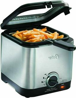SALE OFF Oster CKSTDF102-SS Compact Style Stainless Deep Fry