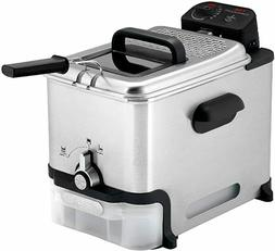 SALE T-Fal FR8000 Deep Fryer With Basket, Oil Filtration, Ea