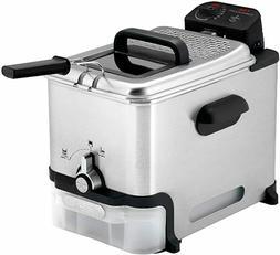 SALE T-Fal FR8000 Deep Fryer With Basket, Oil Filtration, Ea