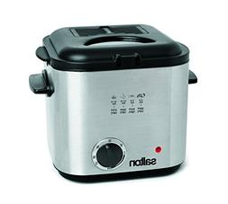Salton DF1539 Compact Deep Fryer, Stainless Steel