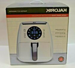 Kalorik Digital Smart Air Fryer, FT 42174 W, Healthy Cooking
