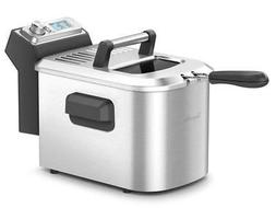 smart fryer bdf500xl 2 stainless steel frying