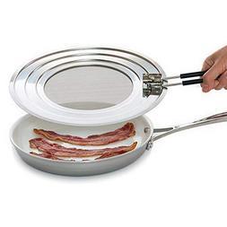 Splatter Screen Guard - Blocks Hot Grease Splash from Bacon,
