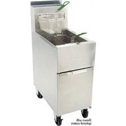 Dean SR42G Dean Value Gas Fryer - 43 lb. Capacity - Commerci