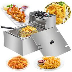Stainless Steel Commercial Household Electric Deep Fryer Fri
