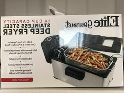 Stainless Steel Deep Fryer  By Elite Gourmet