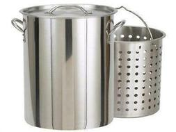 Bayou Classic 62 Qt. Stainless Steel Fryer/Steamer Pot