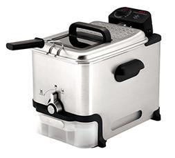 T-Fal Deep Fryer Ultimate EZ Clean 2.65 lb Food 3.5 L Oil St