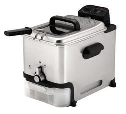 T-Fal Deep Fryer with Basket, Oil Filtration, Easy to Clean,
