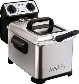 T-fal FR4049 Electric Deep Fryer Dishwasher Safe Crispy Snac