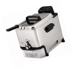 T-Fal FR8000 Deep Fryer with Basket, Oil Filtration, Easy to