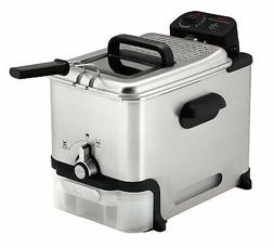 T-fal Deep Fryer with Basket, Stainless Steel, Easy to Clean