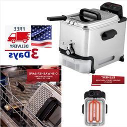 T-Fal FR8000 Model Deep Fryer with Basket Oil Fryer Filtrati