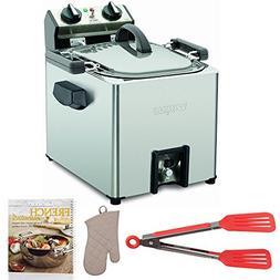 Waring Pro TF200B Rotisserie Turkey Fryer + Cookbook, Oven M