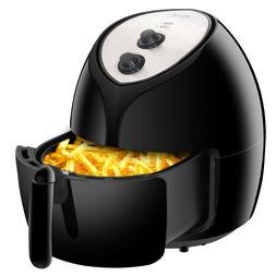 Air Deep Fryer  w/ Recipes - Temperature Control, Dishwasher