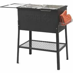 Triple-Basket Deep Propane Gas Fryer Stainless Steel Baskets