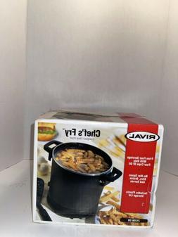 Vintage Rival 3 Qt Chef's Fry Electric Deep Fryer #21256 CH